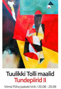 Tuulikki Tolli näitus Viimsi Püha Jaakobi kirikus